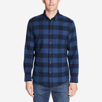Men's Eddie's Favorite Flannel Classic Fit Shirt - Plaid in Purple