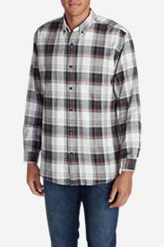 Men's Eddie's Favorite Flannel Classic Fit Shirt - Plaid Tall in Black