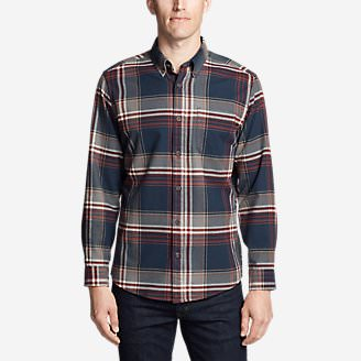 Men's Eddie's Favorite Flannel Classic Fit Shirt - Plaid in Blue