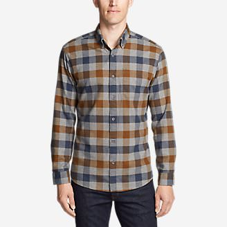 Men's Eddie's Favorite Flannel Classic Fit Shirt - Plaid in Brown