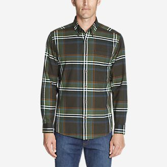 Men's Eddie's Favorite Flannel Classic Fit Shirt - Plaid in Green