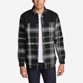 Men's Overlook Shirt Jac in Gray
