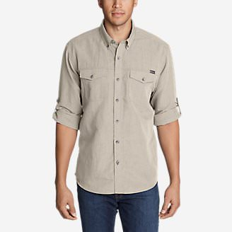 Men's Larrabee Pro Long-Sleeve Shirt in Beige