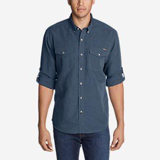 Men's Larrabee Pro Long-Sleeve Shirt in Blue