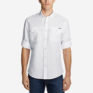 Men's Larrabee Pro Long-Sleeve Shirt in White