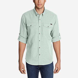 Men's Larrabee Pro Long-Sleeve Shirt in Green