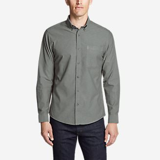 Men's Ultimate Travel Oxford Shirt in Green