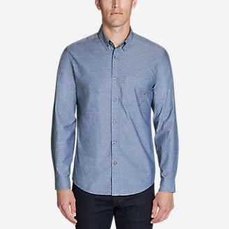 Men's Baja Long-Sleeve Shirt in Blue