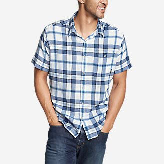 Men's Breezeway Short-Sleeve Shirt in Blue