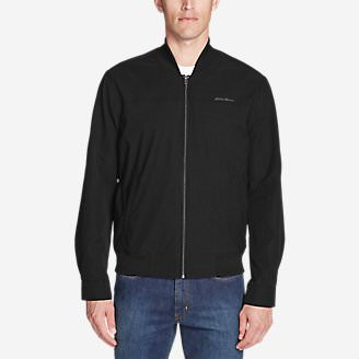 Men's Voyager Bomber Jacket in Black