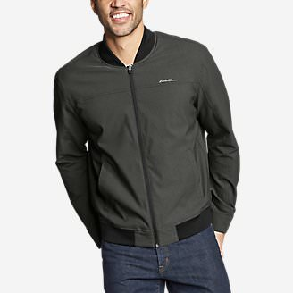 Men's Voyager Bomber Jacket in Gray