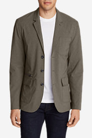 Men's Voyager 2.0 Travel Blazer in Brown