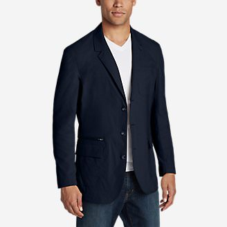 Men's Voyager 2.0 Travel Blazer in Blue