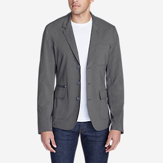 Men's Voyager 2.0 Travel Blazer in Gray