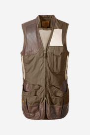 Men's Premium Clay Break Vest in Brown