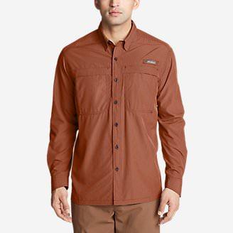 Men's Guide Long-Sleeve Shirt in Brown