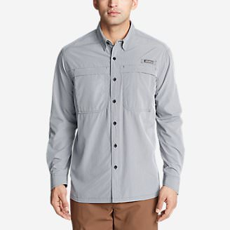 Men's Guide Long-Sleeve Shirt in Gray