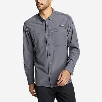 Men's Guide Long-Sleeve Shirt in Blue