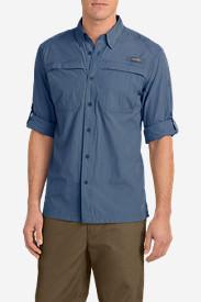 Men's Guide Long-Sleeve Shirt in Blue