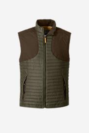 Men's MicroTherm StormDown Field Vest in Green