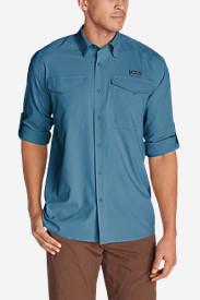 Men's Ahi Long-Sleeve Shirt in Blue