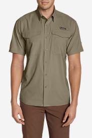 Men's Ahi Short Sleeve Shirt in Beige