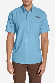 Men's Ahi Short Sleeve Shirt in Blue