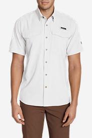 Men's Ahi Short Sleeve Shirt in White