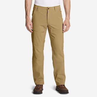 Men's Field Guide Pants in Brown