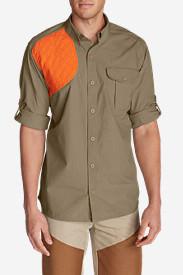 Men's Palouse Long-Sleeve Hunting Shirt in Beige