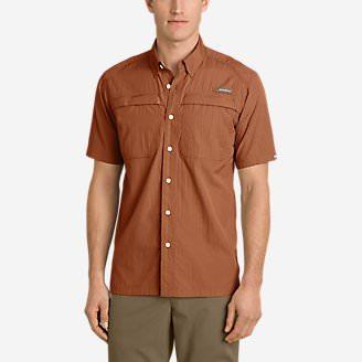Men's Guide Short-Sleeve Shirt in Brown