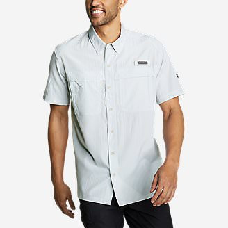 Men's Guide Short-Sleeve Shirt in Gray