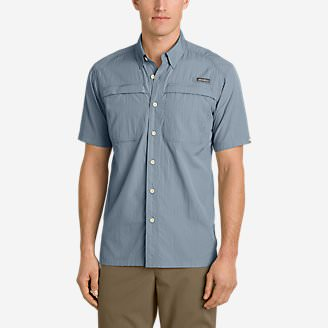 Men's Guide Short-Sleeve Shirt in Blue