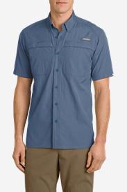 Men's Guide Short-Sleeve Shirt in Blue