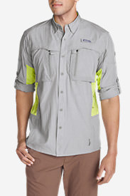 Men's Quantum Guide Shirt in Gray