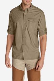 Men's Palouse Long-Sleeve Shooting Shirt in Beige