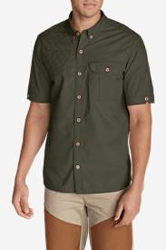 Men's Palouse Short-Sleeve Shooting Shirt in Green