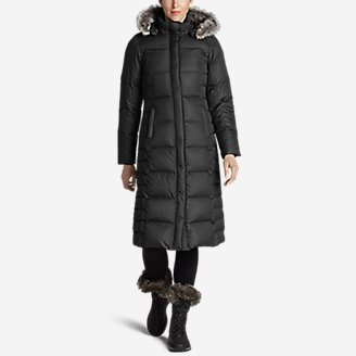 Women's Lodge Down Duffle Coat in Black