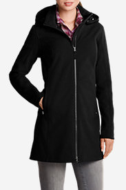 Women's Windfoil® Elite Trench Coat in Black