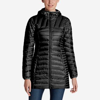 Women's Astoria Hooded Down Parka in Black