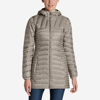 Women's Astoria Hooded Down Parka in Beige