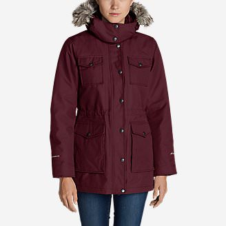 Women's Westbridge Parka in Red
