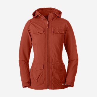 Women's Atlas 2.0 Jacket in Orange