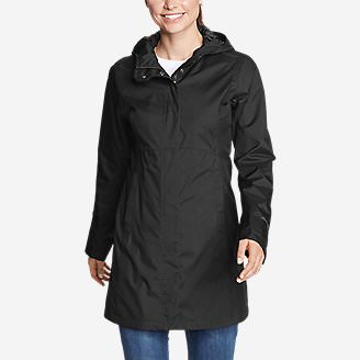 Women's Mackenzie Trench Coat in Black