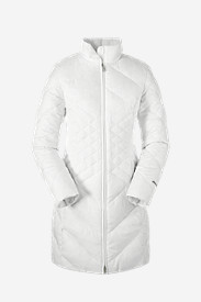 Women's Essential Down Parka in White