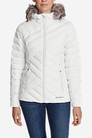 Women's Slate Mountain Down Jacket in White