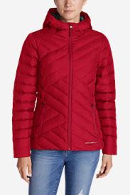 Women's Slate Mountain Down Jacket in Red