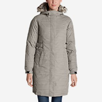 Women's Superior Down Stadium Parka in Gray