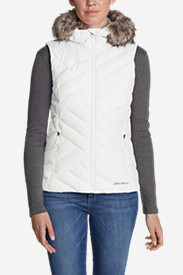 Women's Slate Mountain Down Vest in White