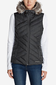 Women's Slate Mountain Down Vest in Black